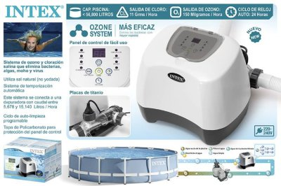Хлорогенератор с озонатором (Krystal Clear Ozone and Saltwater System) Intex 26666 (28666)